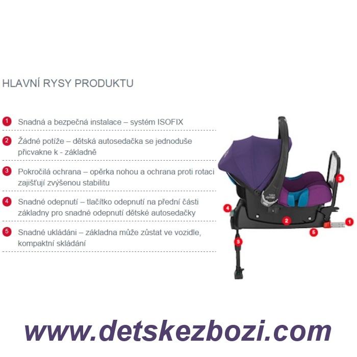 r mer baby safe isofix base krte ek s r o. Black Bedroom Furniture Sets. Home Design Ideas